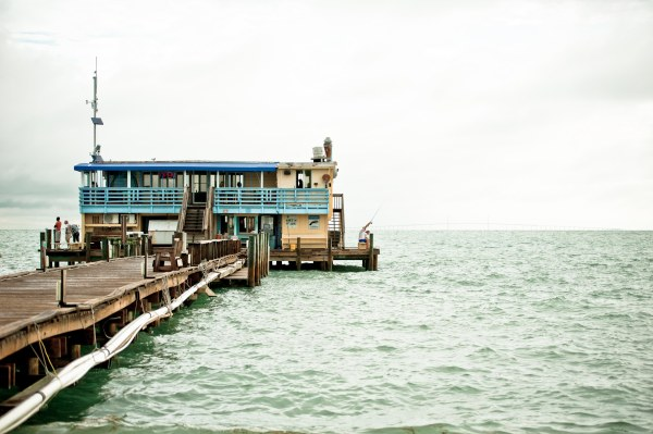 Rod & Reel - amazing place to watch the sunrise and grab some breakfast.  photo by Emily Clark Photography
